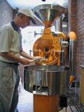 コーヒー通販 ブルボンコーヒー 焙煎風景